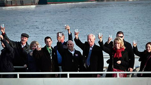 Capt. Sully Sullenberger returns to the Hudson River