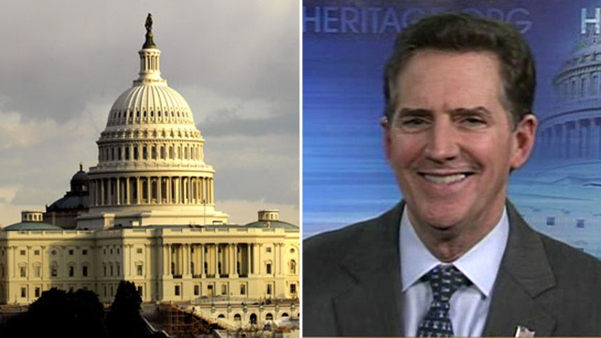 Heritage president-elect Jim DeMint weighs in