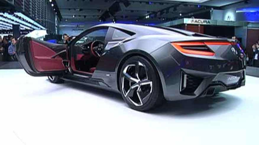 Fox Car Report checks out some of the concept cars on display at the Detroit Auto Show