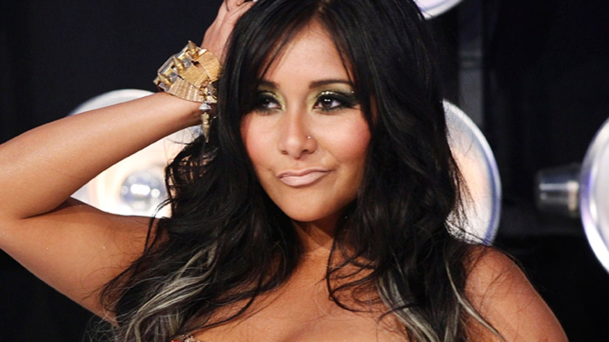 Snooki said producers were none too pleased when she got pregnant