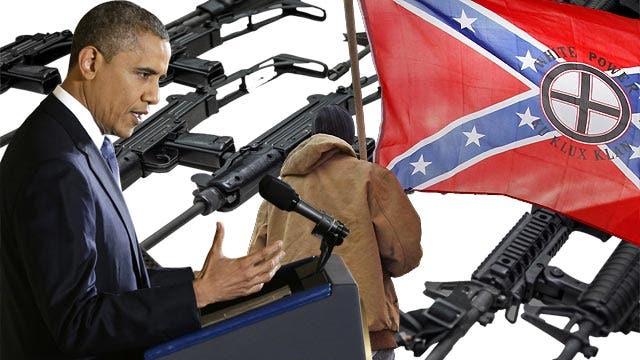Racist to oppose President Obama's gun control proposals?