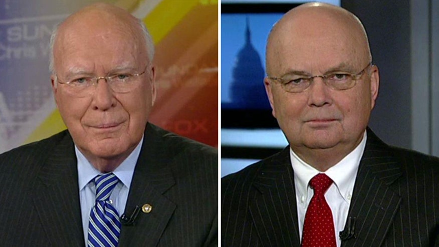 Reaction from Gen. Michael Hayden and Sen. Patrick Leahy