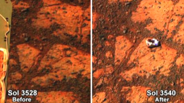 Bill Nye breaks down Martian rock mystery