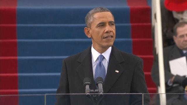 humor in president obamas inaugural speech