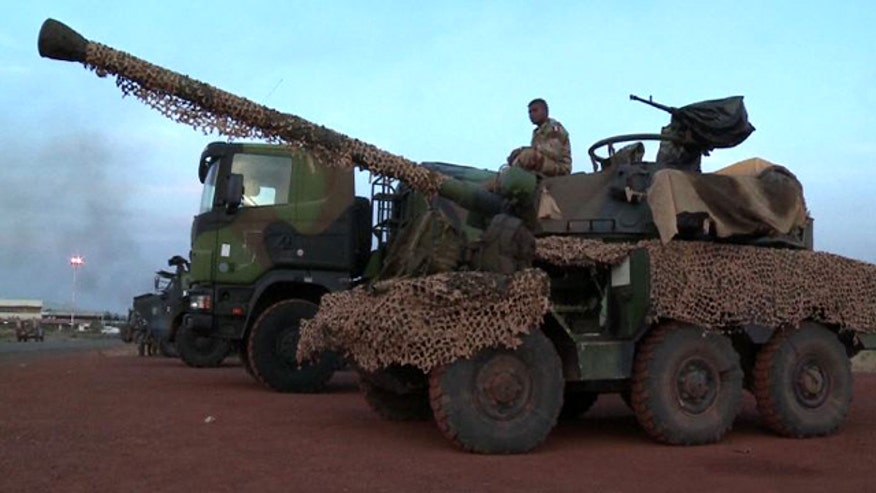 Raw AFP video: French troops, military equipment in Bamako