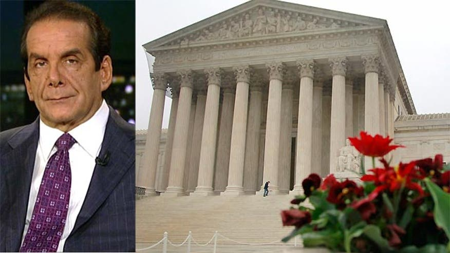 "Krauthammer: Supreme Court unions case could be ""blow to organized labor from which they would not recover"""