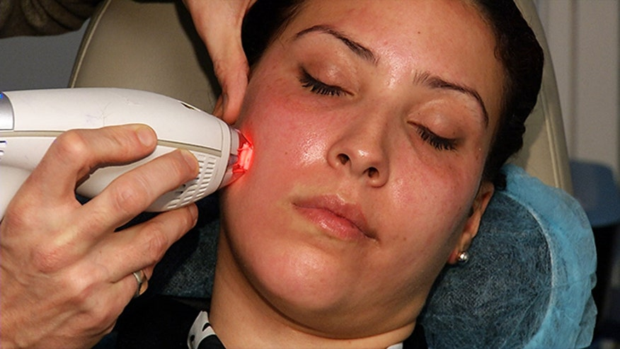 Dr. Paul Jarrod Frank demonstrates how to remove fine lines and acne scars with this innovative new laser treatment