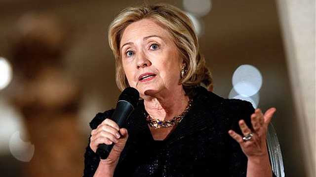 Hillary Clinton and taking responsibility
