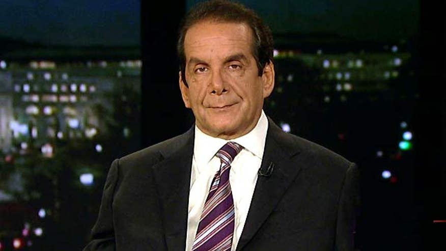 Krauthammer said wednesday...