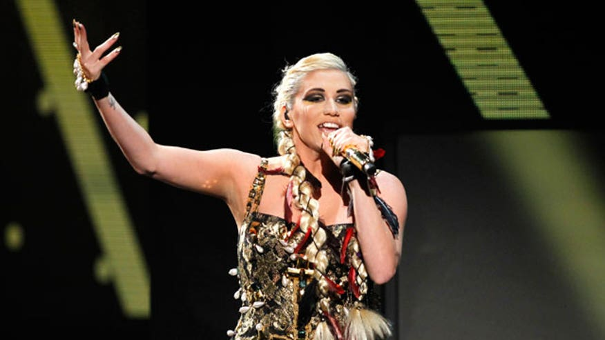 Ke$ha wanted fans to send their teeth so she could make art but the rehab said no, no no.