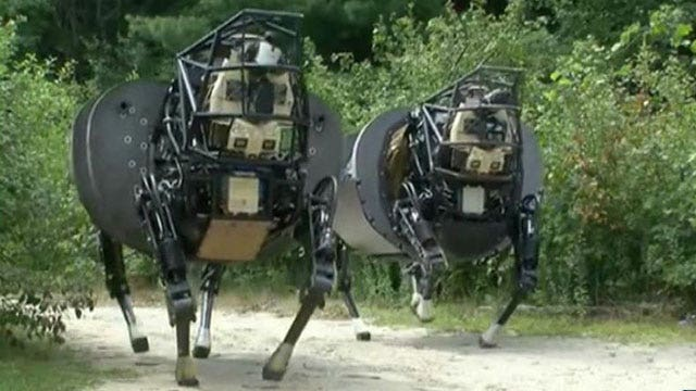 Robots could replace 1/4 of US combat soldiers by 2030