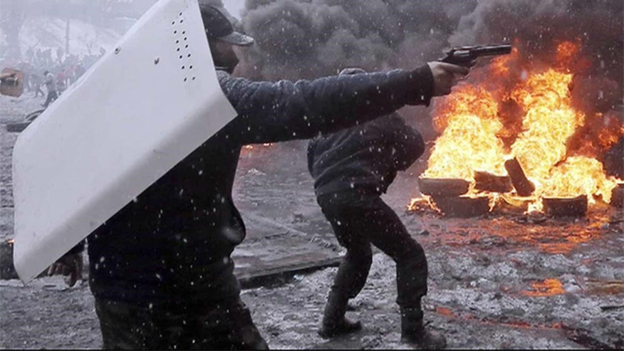 Protests move beyond capital city of Kiev