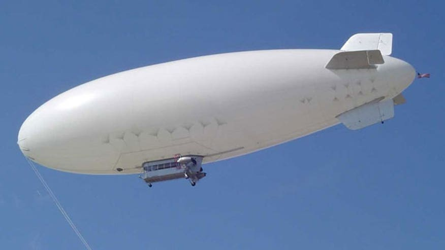 Blimp-like surveillance craft set to deploy