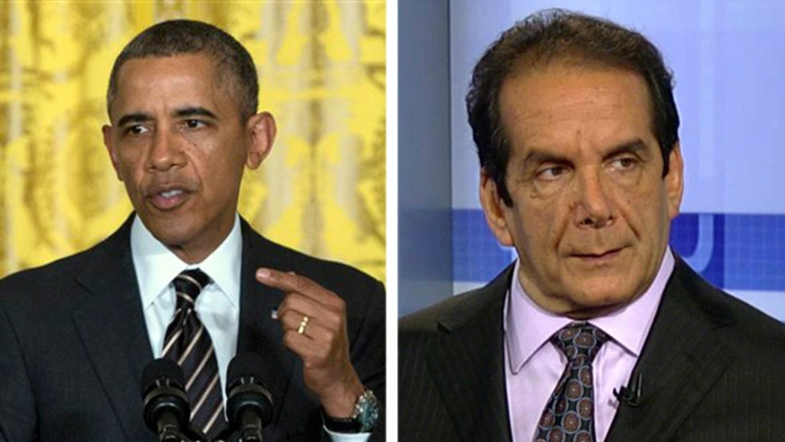 Charles Krauthammer on why the president seems to have ditched his mission to change Washington in favor of his executive pen and phone