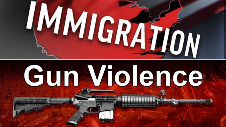 Chris and guests discuss gun violence and immigration reform. Plus - Republican reboot