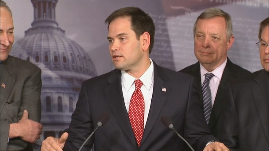 A bipartisan group of eight leading senators - including Marco Rubio of Florida and New Jersey's Robert Menendez - have reached a tentative deal on a systematic overhaul of the country's immigration system.