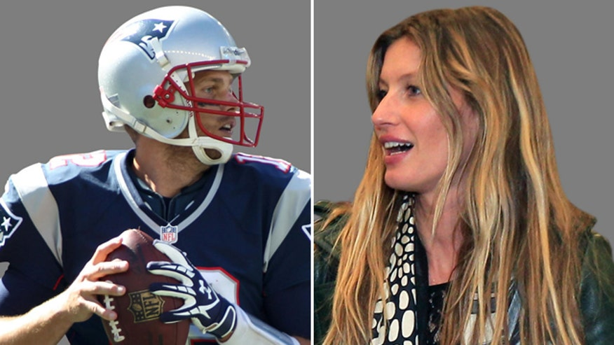 Tom Brady spent time with his sexy wife on the beach