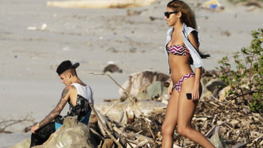 Report: Justin's model gal pal tried to sell story of DUI bust
