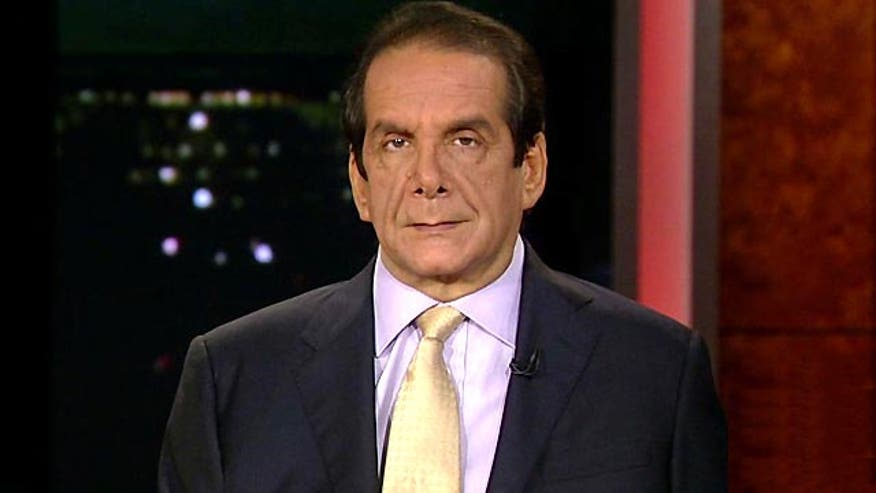 Krauthammer also said that upon hearing an excerpt ahead of the president's State of the Union speech Tuesday,