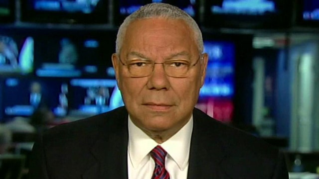 Colin Powell enters 'No Spin Zone', Pt. 2