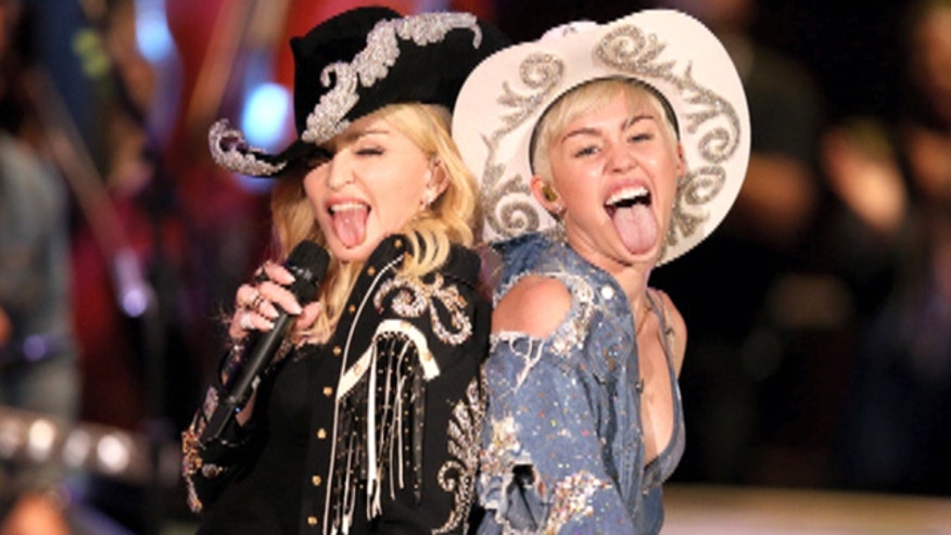 Miley Cyrus and Madonna got wild on MTV's Unplugged