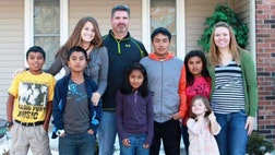 A Missouri family couldn't believe the email at first: Five Peruvian kids said they were newly orphaned and needed a mommy and daddy.