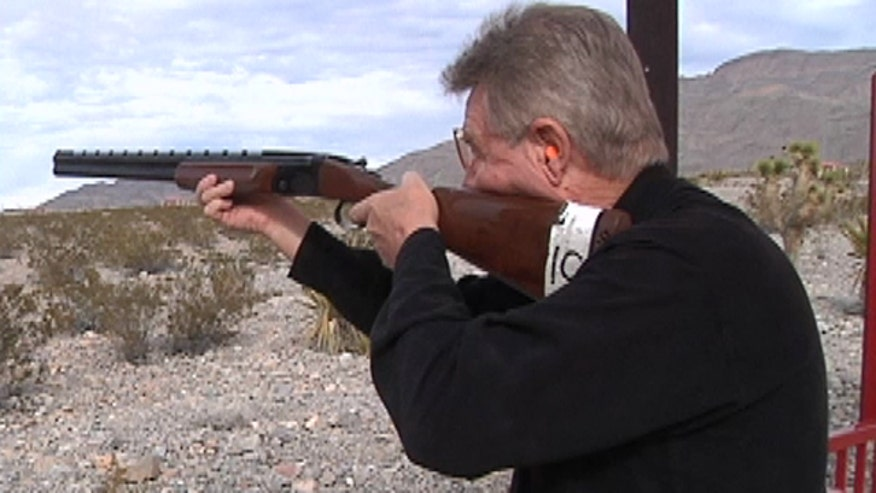 Multi-million dollar sporting clay complex allows folks to 'golf with guns' in Sin City.