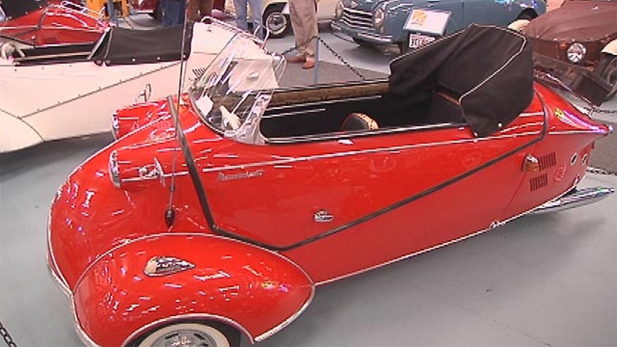 Collector Bruce Weiner has spent 25 years hunting and collecting microcars. He is closing the museum has has stored the cars and auctioning them off