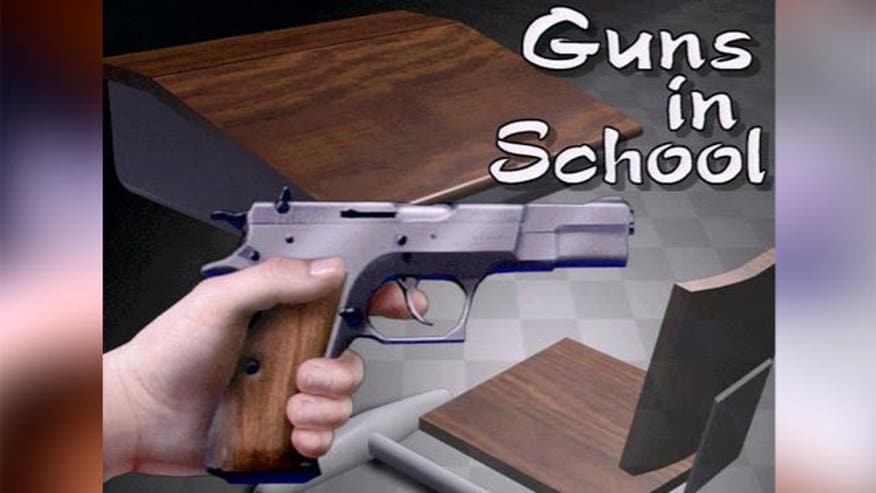 Are weapons in schools the solution?