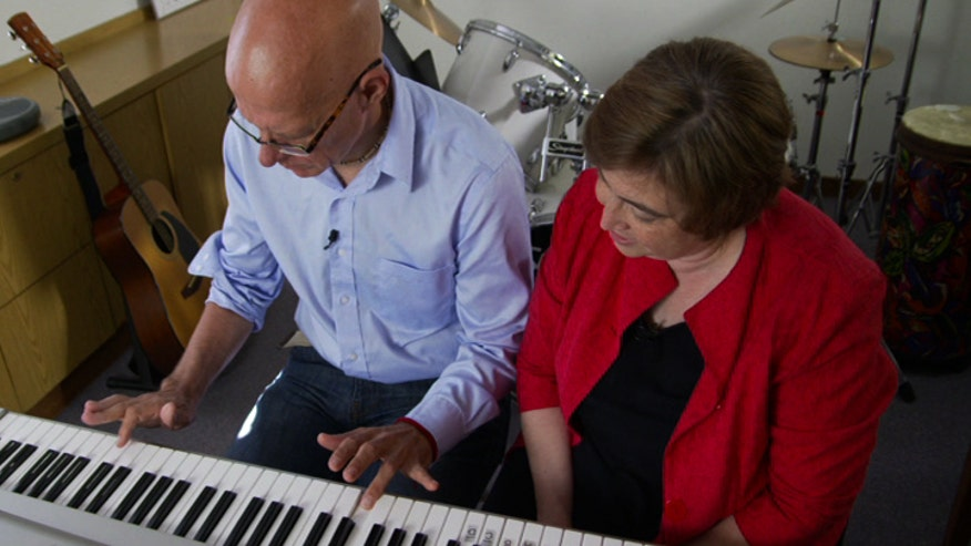 After his stroke, doctors told Bill Forester's family he may never speak or walk again. He turned to music therapy to retrain his brain and re-learn the skills he lost