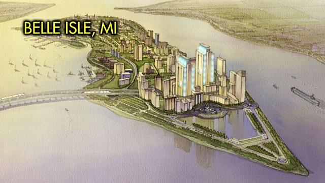 Developer plans 'free market utopia' off Detroit