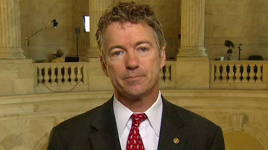 Sen. Rand Paul sounds off