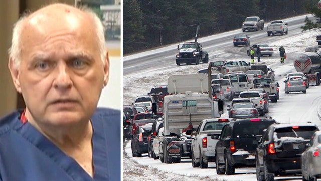 Doc walks 6 miles in snow to perform life-saving surgery