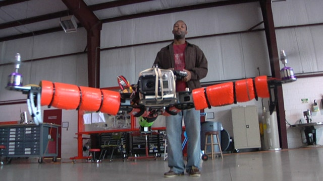 Drone degrees taking off