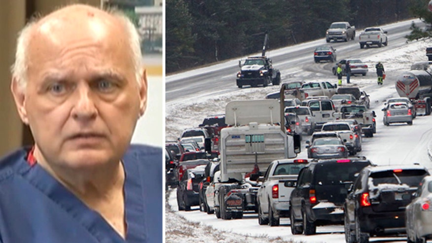 Alabama surgeon treks through snowstorm to save dying patient