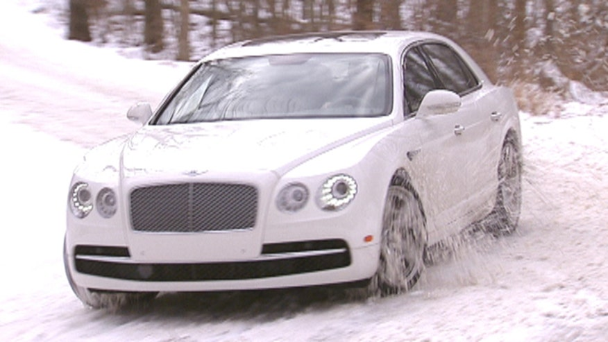 Fox Car Report's Gary Gastelu checks out the 2014 Bentley Flying Spur