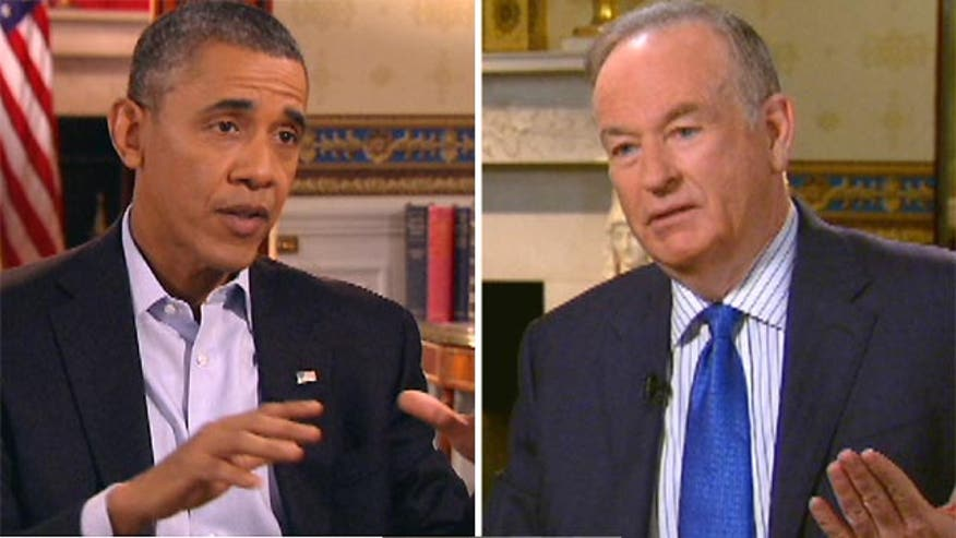 Bill's unedited Super Bowl pregame interview with President Obama