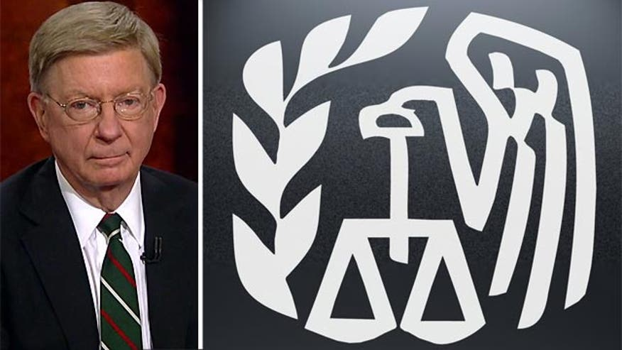 Fox News Contributor George Will said Monday the IRS targeting of conservative groups was one of the three major political scandals in the last 40 years.