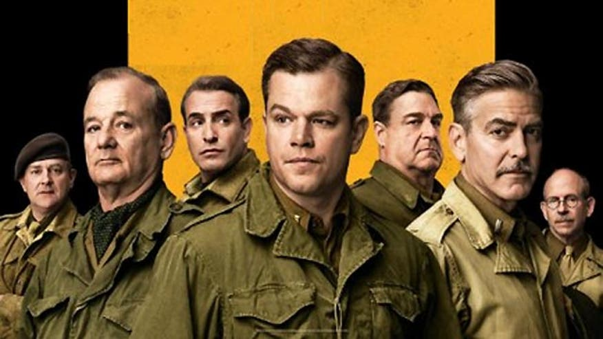 Ashley Dvorkin and Justin Craig talk George Clooney and friends' new WWII comedy-drama 'The Monuments Men'