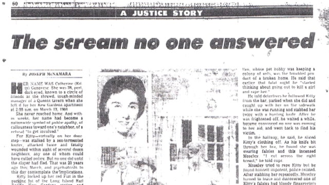 Fox Files: Why didn't anyone come to Kitty Genovese's aid?