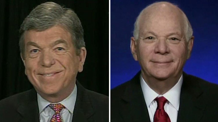 Sens. Roy Blunt and Ben Cardin on 'Fox News Sunday'