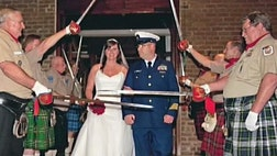 Almost a dozen couples walked down the aisle thanks to Weddings for Warriors. The group plans, hosts and pays for ceremonies and vow renewals, all thanks to the work of more than  businesses, local and across the nation.