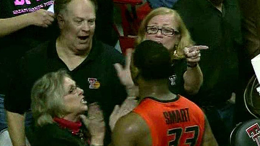 'Off the Record', 2/10/14: Obnoxious fan pushed by college basketball star Marcus Smart is not a one-time offender and should be barred long-term
