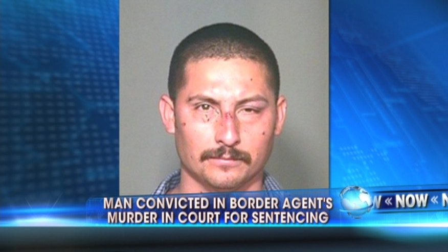 A Mexican man will be sentenced in federal court in the killing of a U.S. Border Patrol agent Brian Terry whose death revealed a botched law enforcement sting in which agents lost track of hundreds of guns sold to criminals.