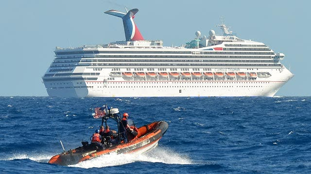 Carnival Cruise Ship Adrift Off Of Mexico After Fire In