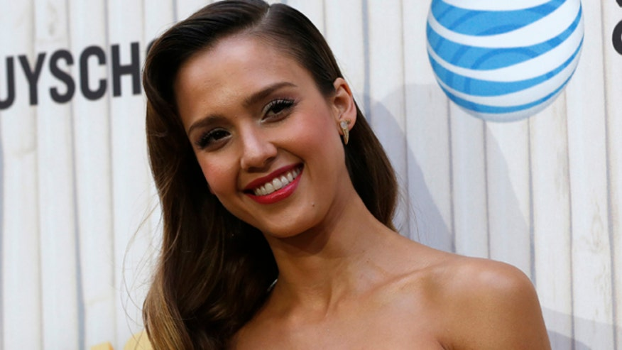 Jessica Alba says she gave her husband's birthday cake to police