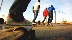 Skateboards have come a long way over the years, and now they've gone electric.