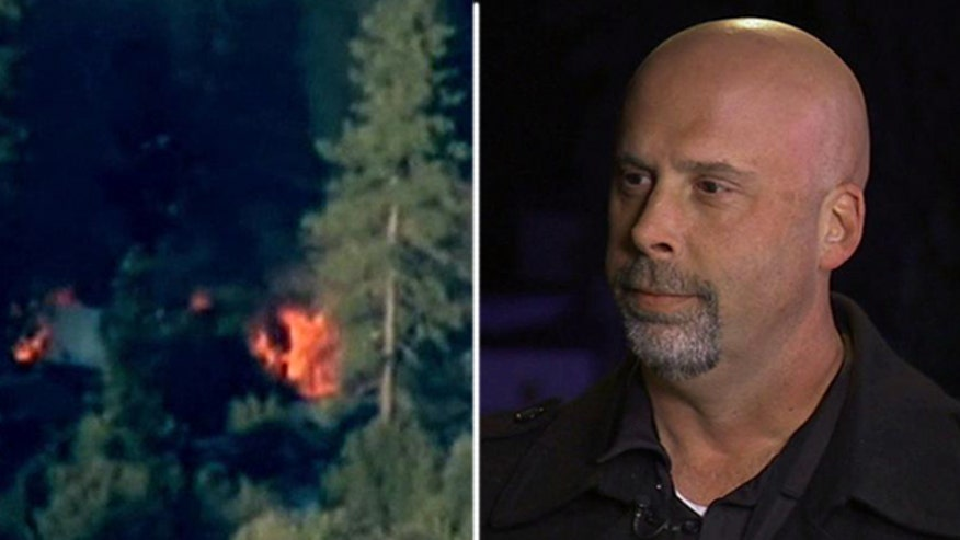 Reporter who witnessed the violent, fiery, final confrontation between Chris Dorner and authorities recalls encounter