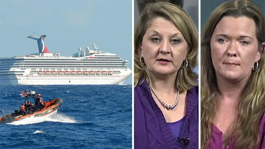 Moms with daughters onboard Carnival Triumph describe ordeal