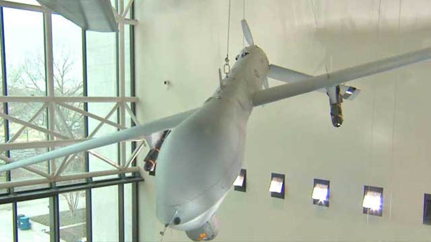 National Air and Space Museum explores new weapons of war